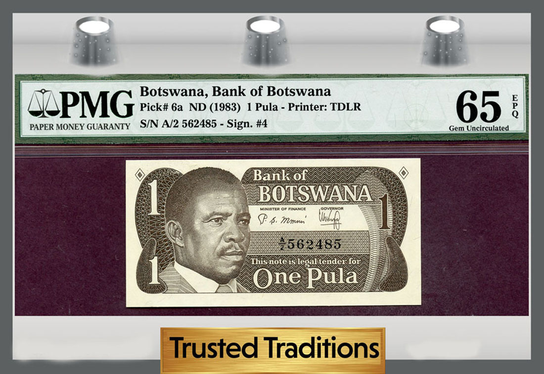Botswana - Currency for sale on Collectors Corner